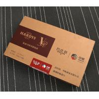 Quality manufacturers produce customized red wine boxes, professional supply MDF wine packaging boxes, hardcover trays for sale