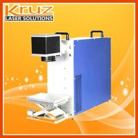 Fiber laser marking machine, 20W, applied to all kinds of materials, such as wood, metal, sannitary ware and plastic .