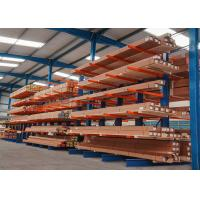China Single / Double Sided Structural Cantilever Rack Robot Welding For Long Steel Pipes for sale