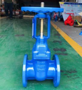 Quality Handwheel Rising Stem Cast Iron GG25 Ductile Iron Gate Valve for sale