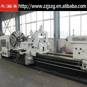 Quality CW61125 conventional horizontal metal lathe machine tool for sale