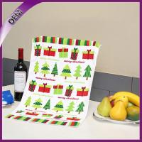Quality Microfiber Printing Kitchen Dish Towels With Various Cup for sale