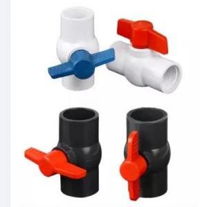 Quality ASTM Sch 40 Sch 80 Octagonal Compact PVC Ball Valve for sale