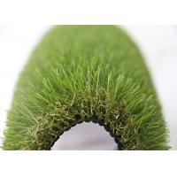 China 35MM Natural Looking Garden Outdoor Artificial Turf  For Lawns / Children Playground on sale