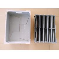 Buy cheap Customized Corrugated Plastic Components Box With Plastic Divider from wholesalers