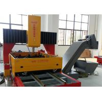 China Metal Plate CNC Drilling Machine, Hole Drilling Machine With 2 Movable Work Table on sale