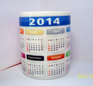 China Export 11OZ sublimation mug transfer photos ceramic mug custom pictures 7102 mark cup wholesale blank mugs on sale