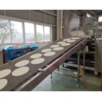 Quality G650 Industrial tortilla Production Line of 304 stainless steel equipped with touch screen for high capacity demand for sale