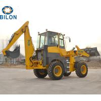Quality 0.8-1.2m3 Bucket Capacity  Backhoe Loader For Building Construction for sale