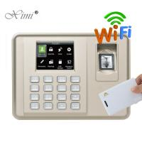 Quality Biometric Fingerprint Time Attendance With RFID Card Reader Linux System Fingerprint Employee Time Clock for sale