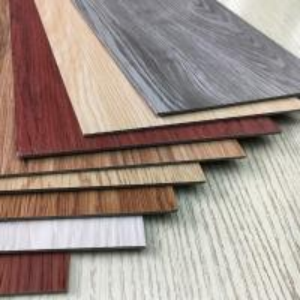 China Deep Embossed PVC Flooring Sheet Wood Design Luxury Vinyl Tiles Anti Slip on sale