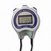 Quality Sports Timer with Six-digit LCD Panel and Chronograph Alarm for sale