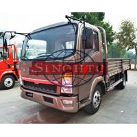 China 4x2 Howo Light Truck , 5 - 7 Tons Light Duty Trucks 120 / 130hp Engine Power on sale