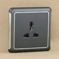 Buy cheap Golden wall switch socket from wholesalers