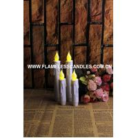 Buy cheap Set of 2 Resin Drip Taper Candles With Timer– Battery Operated from wholesalers