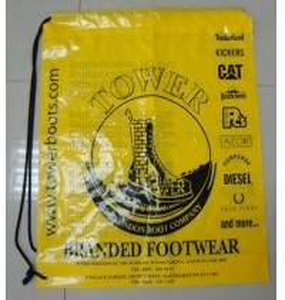 Quality Drawstring Shopping bags, Soft loop, Die cut handle, Flexi loop handle, Thermal bags for sale