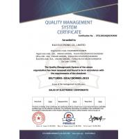 N&S ELECTRONIC CO., LIMITED Certifications