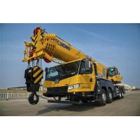 Quality 55 Ton Boom Truck Crane , XCT55L6 XCMG 6 - Section Boom Hydraulic Crane for sale