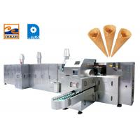 Quality High Power Flexible Sugar Cone Machine For Standard Ice Cream Cone 10000PCS / Hour for sale