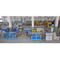 Quality Single Wall Corrugated Pipe Extrusion Machinery For PP / PE / PVC Pipe for sale