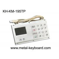 Quality Anti - Vandal Industrial Keyboard with Touchpad Stainless Steel Material for sale
