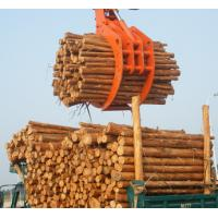 Quality Powerful Excavator Grab Attachment Hydraulic Timber Grab / Excavators Wood Grapple for sale