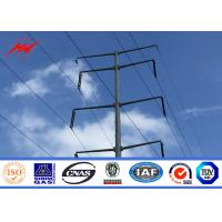Best AWS D1.1 Galvanized Steel Power Transmission Poles WPS Welding Certification wholesale