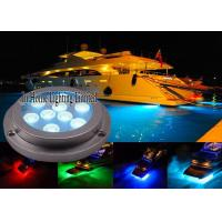Best 27W IP68 Waterproof Boat Underwater LED Lights RGB Marine Navigation Boat Lights wholesale