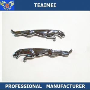 Best Auto Chrome Metal Custom Car Emblems Badges Silver Car Emblem For Pairs wholesale