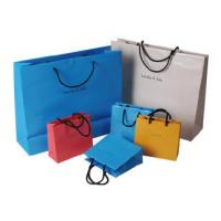 Quality High quality different shape design cosmetic paper bag, cosmetic shopping bag for sale