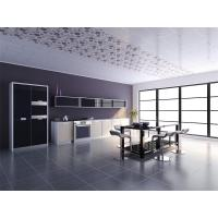 China Moistureproof Strip PVC Ceiling Panels For Morden Kitchen Plan on sale