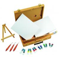 Quality Multi Function Art Painting Set Paint Boxes For Artists 39 X 30 X 8cm for sale