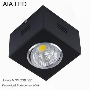 IP42 black indoor surface COB 7W Ceiling down light&LED Grille light