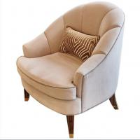 China Fabric Upholstery Hotel Lobby Sofa , Wooden Hotel Lounge Chair High End on sale