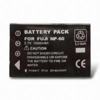 Quality 3.7V Replacement Digital Camera Battery for Olympus LI-60B for sale