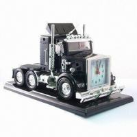 Quality Mini Truck Alarm Clock with Flashing Light for sale