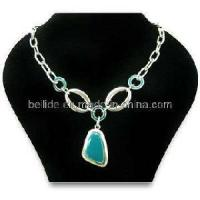 Quality Wedding Quality Stone Jewelry Necklace for Ladies for sale