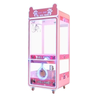 Quality SGS  Mini Paradise Shopping Mall Claw Catcher Toy Crane Machine for sale
