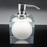 Best Acrylic Resin Golf Lotion Dispenser for Bathroom, OEM and ODM Orders are Welcome wholesale