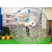 China Large Inflatable Water Toys Inflatable Zorb Ball / Bumper Body Zorb Ball on sale