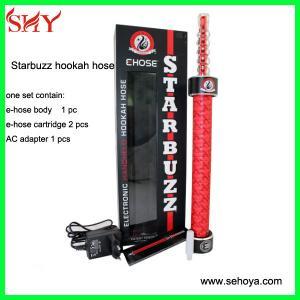 best starbuzz e hookah hose hot selling e hookah e cigarette wholesaler