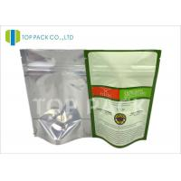 Best Food grade Moisture Barrier Plain Stand Up Pouches Back Foil Spices Packing wholesale