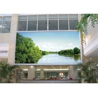 Quality DIP546 advertising FullColor led display 16mm 2R1G1B with View Angle 110 / 50 degree for sale