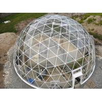 Quality 30 M Diameter Waterproof Geodesic Dome Tent for sale