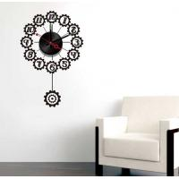 Quality Black Design Vinyl Wall Sticker Clock 10A066 Numbers Wall Decoration for sale