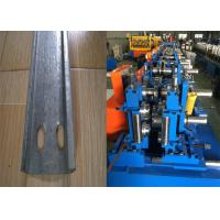 Quality Automatic C Purlin Forming Machine , Purlin Making Machine Easy Installation for sale