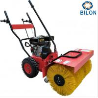 Quality 6.5HP Snow Sweeper Machines Working Depth 45cm / Road Sweeping Vehicle for sale