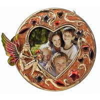 China Heart Shaped Glass Picture Frame on sale