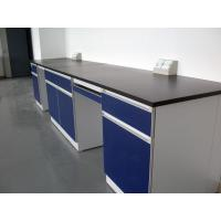 Quality Customizd Lab Bench Lab Table Chemical Side Table Steel Laboratory Wall Bench 4800x750x850mm for sale