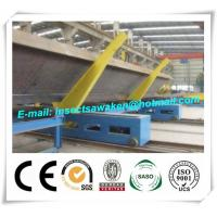 Quality Professional Electric H Beam Welding Line 3000mm / Min Movement Speed for sale